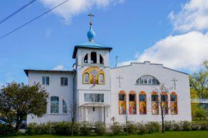 Храм святителя и чудотворца Николая, пос. им. Свердлова