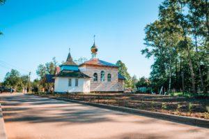 Храм святителя Спиридона Тримифунтского, Борисова Грива