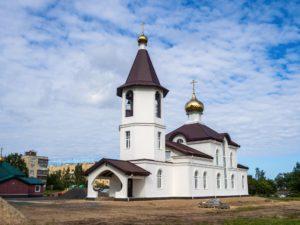 Храм святого благоверного князя Александра Невского, Романовка