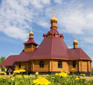 Храм святой великомученицы Варвары, Рахья