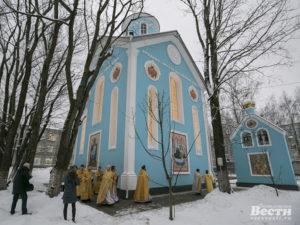 Храм Рождества Пресвятой Богородицы г. Всеволожск (на территории ВКМБ)