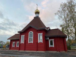 Храм святого благоверного князя Владимира, Щеглово