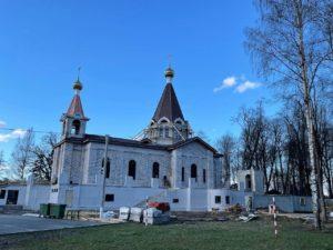 Храм в честь святого пророка Божия Илии и в честь апостолов Петра и Павла в Колтушах (строящийся)