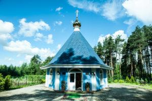 Храм в честь святой праведной Мариамны на Пундоловском кладбище в деревне Суоранда (Янино-1)