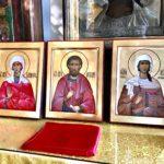 Написаны и освящены новые иконы