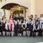 В Православной гимназии «Логос» прошла школьная линейка